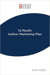 12 Month Author Marketing Plan
